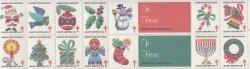画像1: 【アメリカ】クリスマスシール1984 14枚