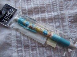 画像1: 【タイ】TESCO  ボールペン BLUE