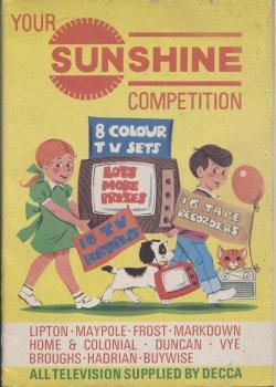画像1: 【イギリス】Sunshine Competition ぬり絵