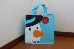 画像1: 【イギリス】Tesco  エコバッグ Snowman