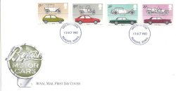 画像1: 【イギリス】British Motor Cars  FDC