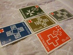 画像1: 【オランダ】レッドクロス 5枚セット
